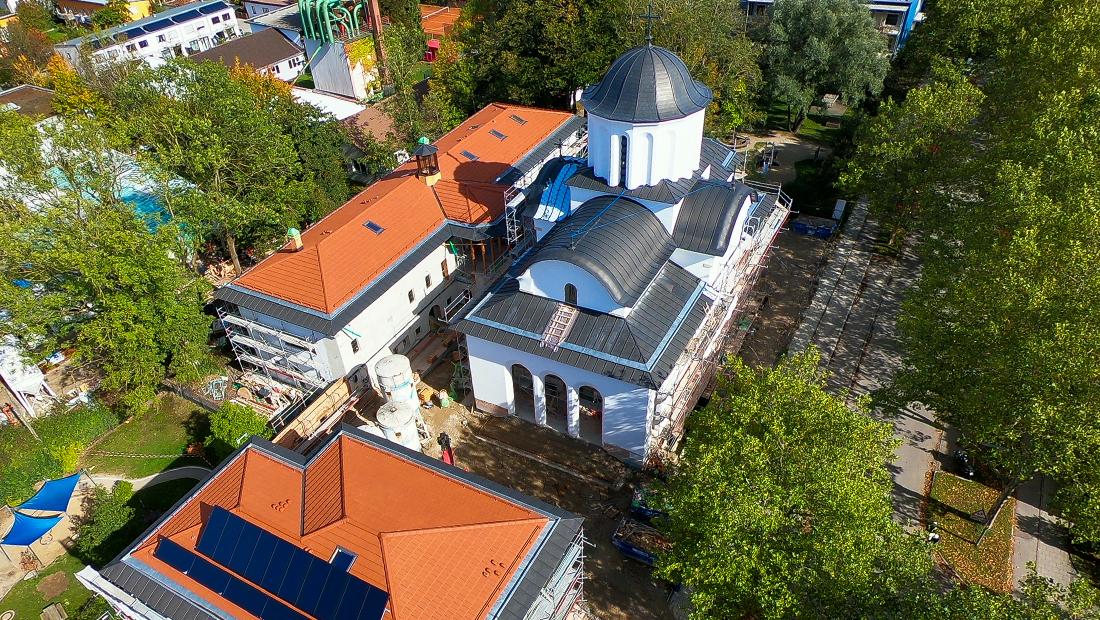 Antreprenori locali. Constructorul român din Bucureşti Concelex, controlat de Daniel Piţurlea, construieşte Catedrala Ortodoxă din München. Grupul a avut în 2019 afaceri de 400 mil. lei, iar după nouă luni din 2020, avansul era de 20%