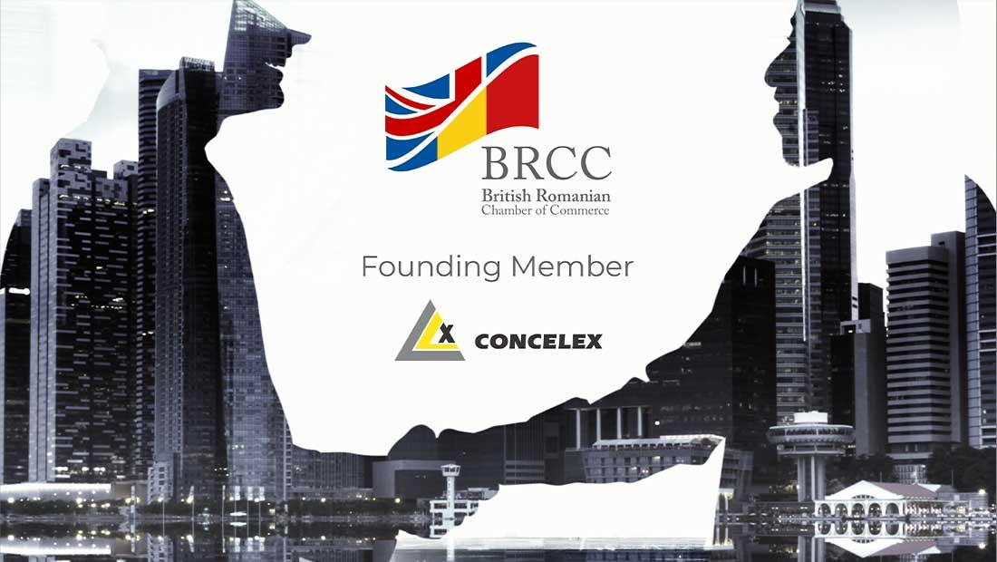 Începând cu această lună, Concelex devine Founder Member al British Romanian Chamber of Commerce (BRCC).