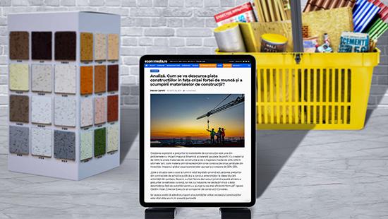 Analiză. Cum se va descurca piața construcțiilor în fața crizei forței de muncă și a scumpirii materialelor de construcții?